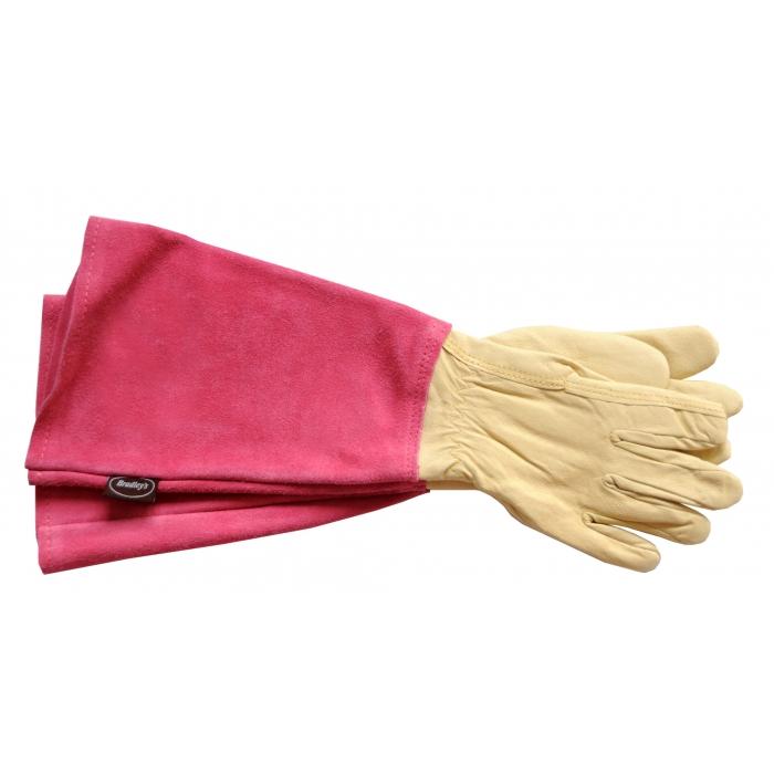stulpenhandschuhe pink rosenhandschuhe. Black Bedroom Furniture Sets. Home Design Ideas
