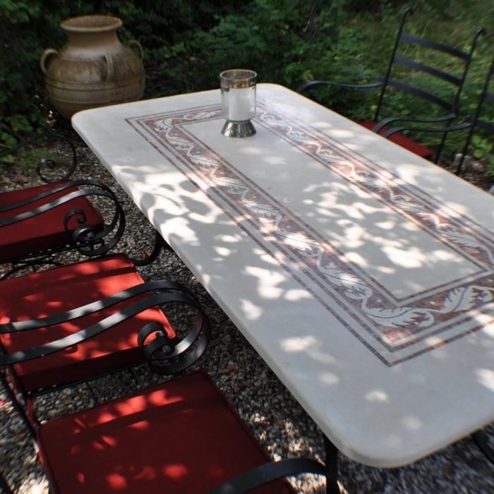 marmortisch 180x90. Black Bedroom Furniture Sets. Home Design Ideas