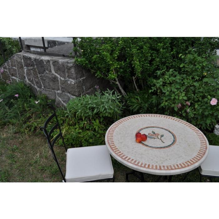 marmortisch rund 70 cm. Black Bedroom Furniture Sets. Home Design Ideas