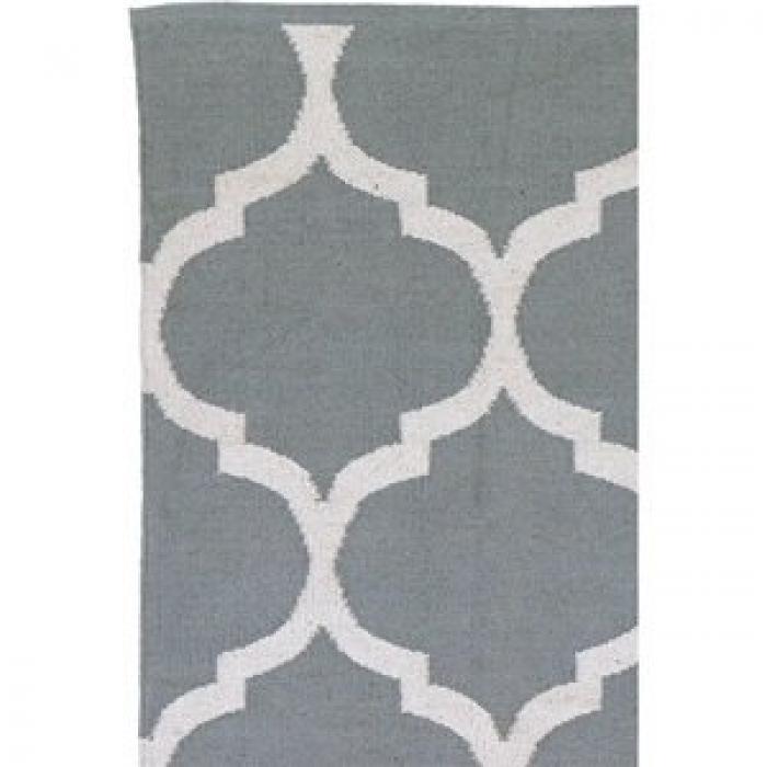 poly teppich casablanca grau weiss 200 x 300 cm. Black Bedroom Furniture Sets. Home Design Ideas