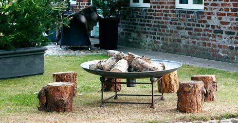 feuerschale im garten – rekem, Garten und Bauen