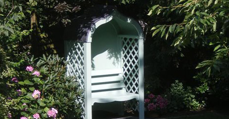 gartenlauben blickpunkt garten. Black Bedroom Furniture Sets. Home Design Ideas