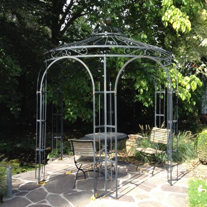 Voll eisen pavillon traumgarten for Garten shop