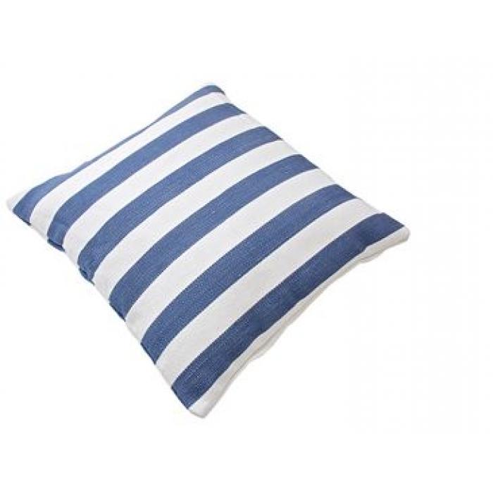 outdoor kissen stripe blau weiss. Black Bedroom Furniture Sets. Home Design Ideas